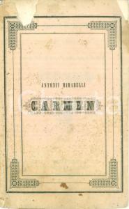 1845 NAPOLI Antonio MIRABELLI In septimo Italorum Sapientium conventu Carmen