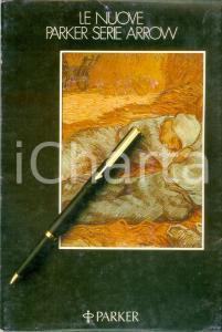 1982 PARKER Pannello pubblicitario per la nuova serie ARROW Illustrato