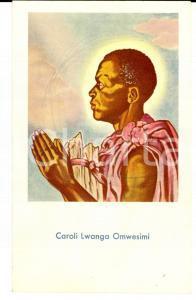 1957 TANZANIA Santino SAN CARLO LWANGA Omwesimi