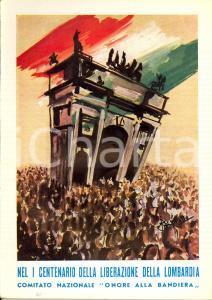 1959 Cesare MARESCOTTI Il Risorgimento e la liberazione della LOMBARDIA Opuscolo