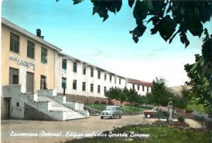 1969 LAURENZANA (PZ) Scuole elementari GERARDO BONOMO *Cartolina FG VG