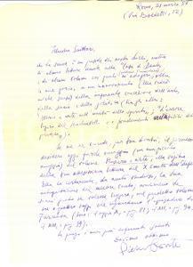 1957 ROMA Scrittore Pietro CONTE invia volume 'Pensiero e arte' *AUTOGRAFO