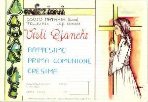 1972 MATRAIA (LU) Confezioni CAMPANILE vesti bianche e casule *Catalogo