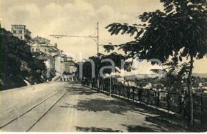 1945 FERMO (FM) Scorcio del viale XX SETTEMBRE *Cartolina postale FP VG
