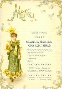 1960 ca MILANO Nozze Luigi MERLO Graziella BISCEGLIE e XXV Giuseppe e Rina MERLO