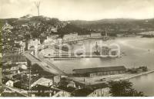 1948 ANCONA Veduta panoramica del porto della città *Cartolina postale FP VG