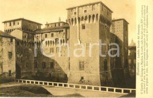 1915 ca MANTOVA Veduta esterna del Castello ducale dei GONZAGA *Cartolina FP NV