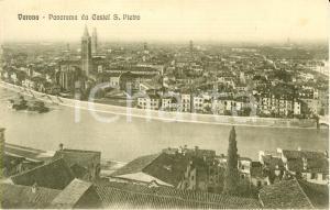 1915 ca VERONA Veduta panoramica della città dal Castel SAN PIETRO *FP NV