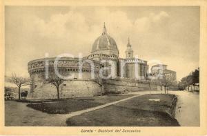 1930 ca LORETO (AN) Bastione SANSOVINO e basilica della SANTA CASA *FP NV