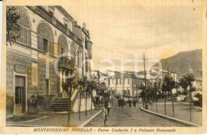 1939 MONTECORVINO ROVELLA (SA) Palazzo comunale in corso UMBERTO I *FP VG