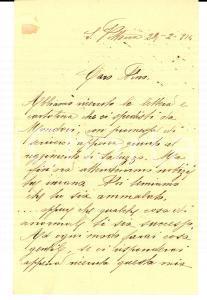 1914 SANTA VITTORIA D'ALBA (CN) Noi temiamo che qualche cosa ti sia successo