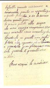 1916 GENOVA Donna fa la spia contro Giuseppe LOCATELLI per salvare il marito