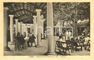 1943 TERME DI FIUGGI (FR) Interno dello stabilimento BONIFACIO VIII *ANIMATA FP