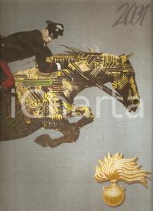 2001 ARMA CARABINIERI Calendario illustrato Ferenc PINTER Galateo Carabiniere