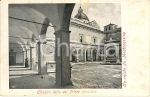 1906 ABBAZIA DI MONTECASSINO (FR) Il chiostro detto del Priore *Cartolina FP VG