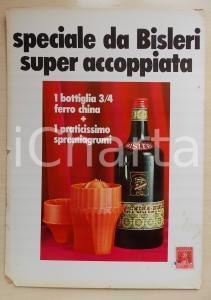 1970 ca MILANO - BISLERI Promozione FERRO CHINA e spremiagrumi *Pubblicità