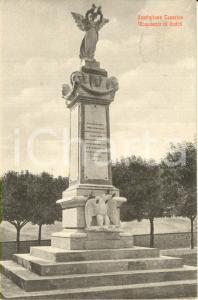 1928 CASTIGLIONE IN TEVERINA (VT) Veduta del monumento ai Caduti Cartolina FP VG