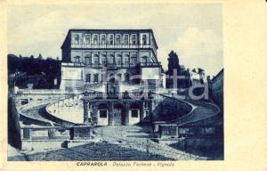 1930 ca CAPRAROLA (VT) Veduta della facciata del Palazzo FARNESE-VIGNOLA *FP NV