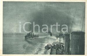 1925 ca REGIA MARINA MILITARE Squadriglie di cacciatorpediniere *Cartolina FP NV