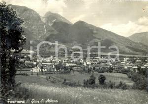 1956 AVIANO (PN) Panorama della valle e della frazione GIAIS *Cartolina FG VG