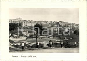 1950 POTENZA Veduta città con stadio Alfredo VIVIANI *Cartolina postale FG VG