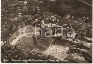 1950 ca SIENA Veduta aerea di Piazza del CAMPO *Cartolina postale FG NV