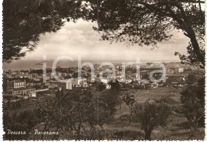 1951 PESCARA Panorama verso il mare *Cartolina postale FG VG