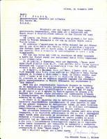 1955 MILANO Gianfranco ORNAGO critica inefficienze della AIR FRANCE *Lettera