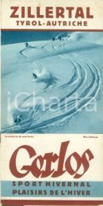 1960 ca GERLOS (AUSTRIA) Sport invernali nella ZILLERTAL *Opuscolo ILLUSTRATO