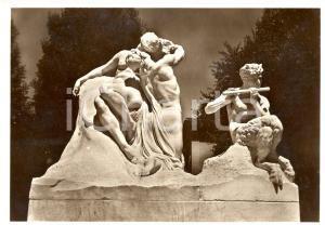 1938 BOLOGNA Monumento a Giosuè CARDUCCI - La natura e il poeta *FG NV
