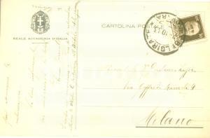 1933 BELGIRATE (VB) Storico Arturo FARINELLI Le tenebre mi circondano *AUTOGRAFO
