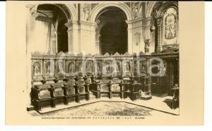 1940 ca CESENA Chiesa MADONNA DEL MONTE - Dettaglio del coro *Cartolina FP NV
