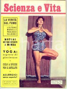 1957 SCIENZA E VITA Motori FERRARI e MASERATI a Monza *Rivista n° 101