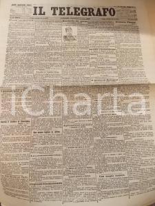 1902 IL TELEGRAFO Colonnello YANKOFF macchietta del giorno *Anno XXVI n°287