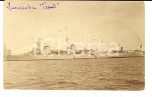 1930 ca REGIA MARINA Incrociatore TRENTO in navigazione *Cartolina postale FP NV