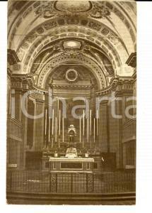 1934 MALALBERGO (BO) Chiesa Parrocchiale - Cappella maggiore *Cartolina FP VG
