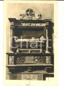 1942 REGGIO EMILIA Basilica di SAN PROSPERO - Monumento a RUFFINO *Cartolina