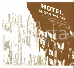 1977 ROMA Hotel MIDAS PALACE Menù Veglionissimo SAN SILVESTRO *DANNEGGIATO