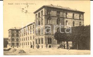 1918 VERCELLI Caserma di Fanteria UMBERTO I *Cartolina postale FP VG