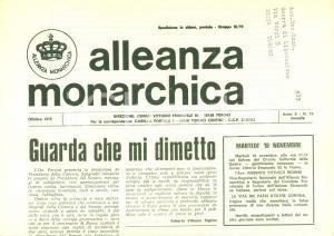1975 ALLEANZA MONARCHICA Zona B del Territorio Libero di TRIESTE venduta a Tito