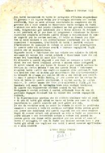 1953 MILANO Renzo RENZI Guido ARISTARCO mettono in berlina l'ITALIA *Lettera