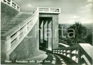1955 ca LORETO (AN) Particolare della SCALA SANTA *Cartolina FG NV
