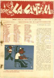 1943 RSI Giornale LA GAMELLA stampato a bordo R.N. ITALIA ILLUSTRATO Rarissimo