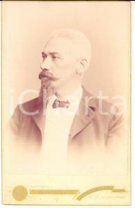 1890 ca JOHANNESBURG Ritratto dell'ing. Francesco CASSINIS *Foto ERDMANN