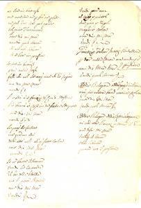 1720 ca ANONIMO se son in buttegh *Poesia dialettale MILANESE inedita