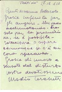 1941 WW2 80° Battaglione Territoriale - Mario TERCHETTI chiede una promozione