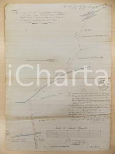 1825 GARLASCO (PV) Progetto ing. Carlo CAPPA per cavo irriguo Ignazio CAPRA