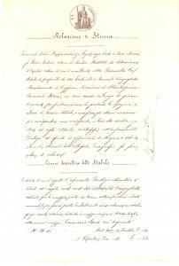 1894 VANZAGHELLO (MI) Stima di stabile rurale eredi Maria FASSI BERTOLETTI