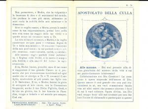 1944 CASALE MONFERRATO (AL) Apostolato della culla per mamme e ostetriche
