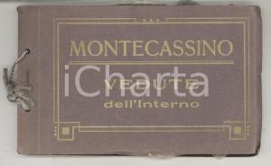 1920 ca MONTECASSINO Album ricordo illustrato con 18 cartoline *TURISMO VINTAGE
